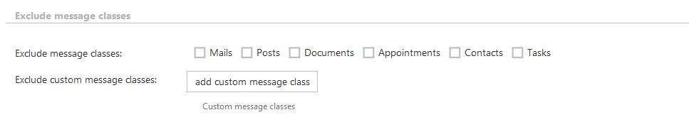 exclude_messageclasses