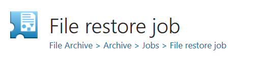 22_file restore job